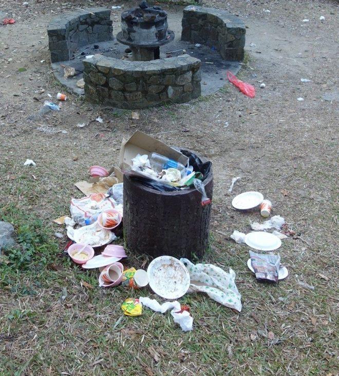 201508 大嶼山垃圾