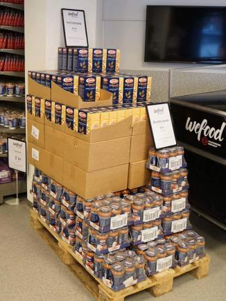 (數量真不少啊) Wefood店內多出售預先包裝的食物和乾糧,這些食物即使過了保質期,在適當儲存下仍不會構成食用安全風險。